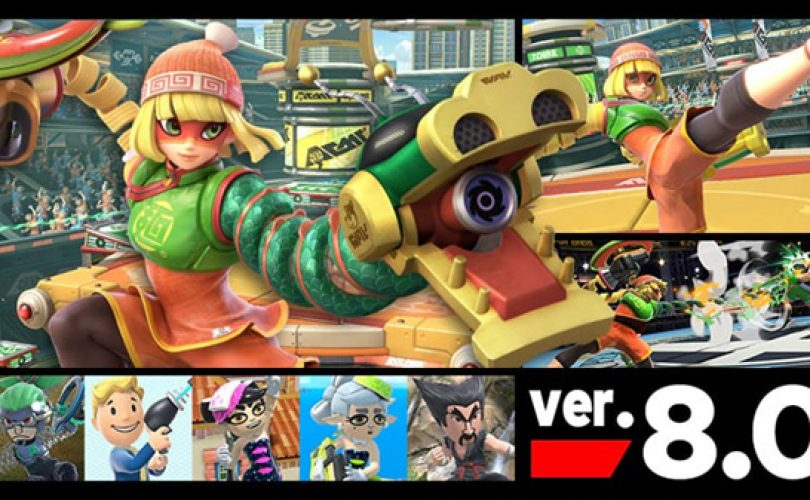Super Smash Bros. Ultimate: Disponibile l'aggiornamento 8.0.0 che include Min Min