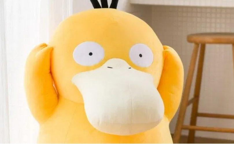 Pokémon: uno Psyduck a grandezza naturale è pronto a invadere le vostre case