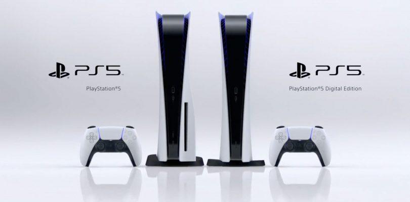PS5: svelato il design della nuova console Sony