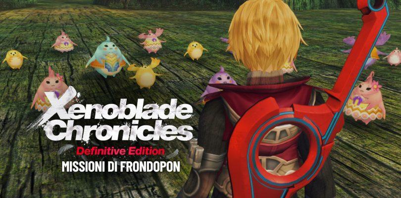 Xenoblade Chronicles: Definitive Edition - Missioni di Frondopon