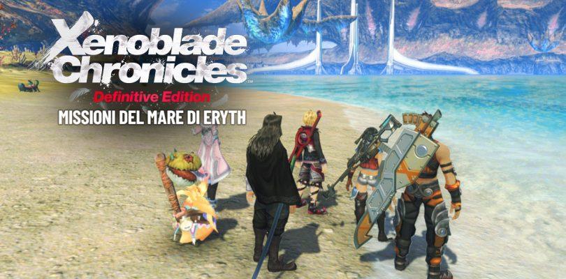 Xenoblade Chronicles: Definitive Edition - Missioni del Mare di Eryth