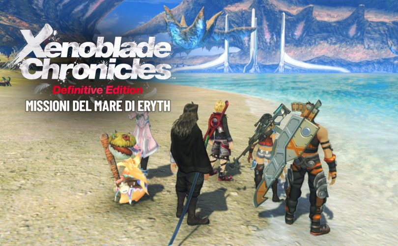 Xenoblade Chronicles: Definitive Edition - Missioni del Mare di Eryth