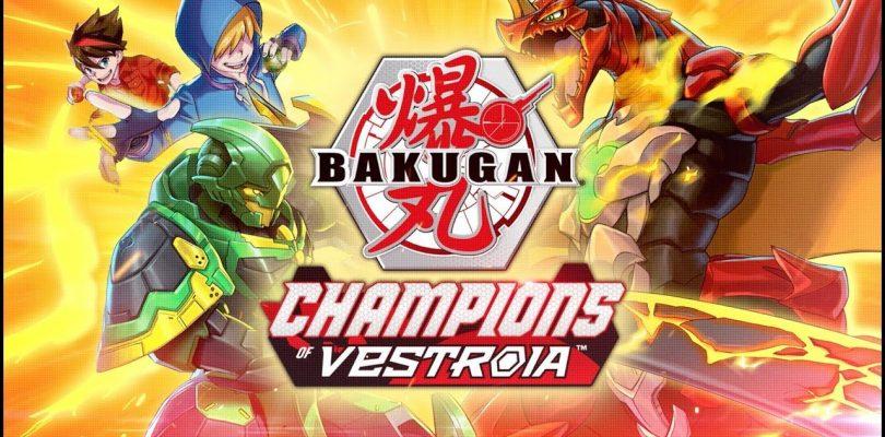 BAKUGAN: Champions of Vestroia annunciato per Nintendo Switch