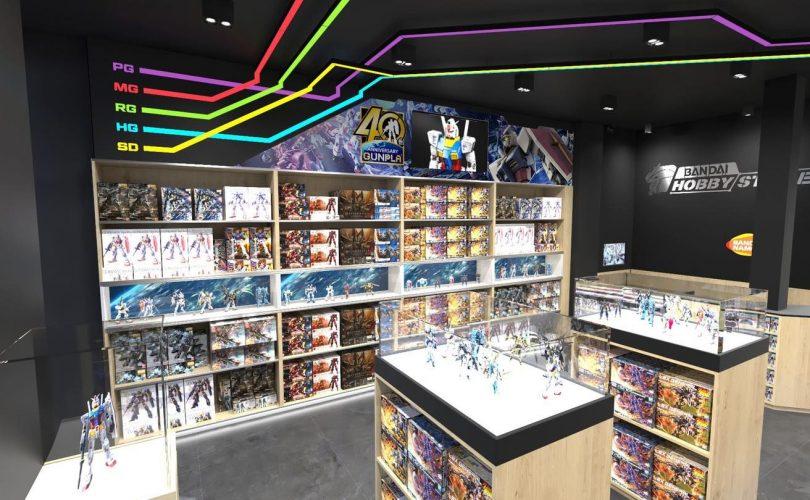 Bandai Hobby Store Paris apre i battenti in Francia