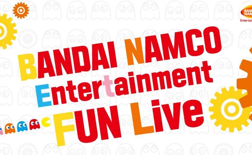 BANDAI NAMCO annuncia la diretta Fun Live per il 17, 19, 21 e 24 luglio