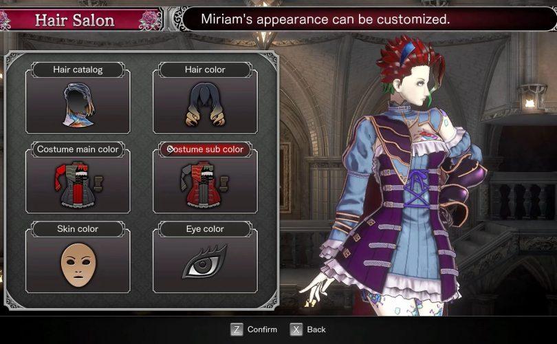 Bloodstained: disponibili le modalità Boss Revenge e Chroma Wheel