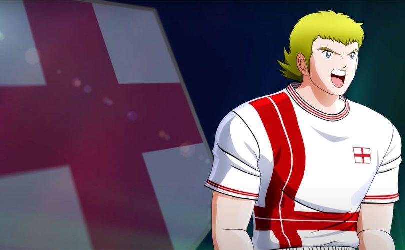 Captain Tsubasa: Rise of New Champions, trailer per la England Junior Youth