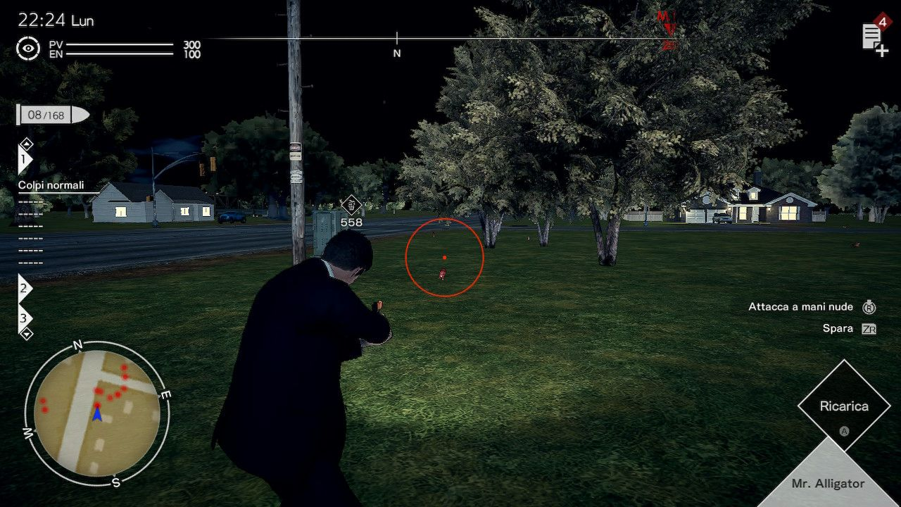 I combattimenti di Deadly Premonition 2