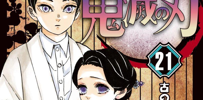DEMON SLAYER: vendite impressionanti in Giappone per il volume 21