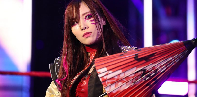 Kairi Sane si congeda dalla WWE e torna in Giappone