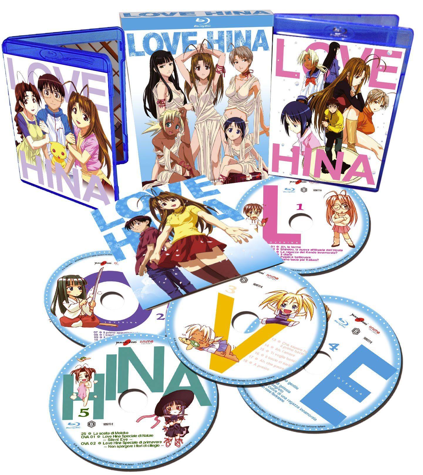 LOVE HINA - Recensione del cofanetto Blu-ray