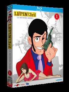 LUPIN III, la seconda serie – Recensione dei cofanetti Blu-ray