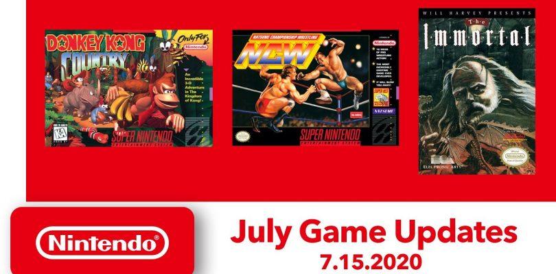 Nintendo Switch Online: i giochi NES e SNES in arrivo a luglio