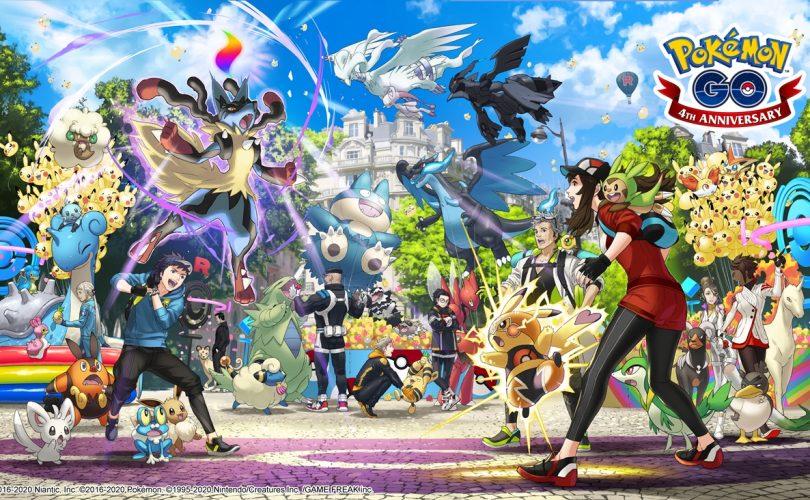 Pokémon GO: svelati i contenuti per il quarto anniversario