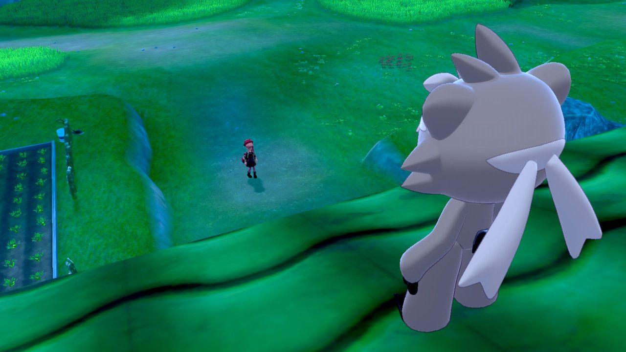 Un misterioso Pokémon ci osserva dall'alto