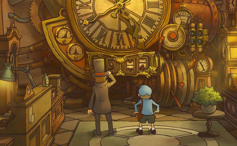 Il Professor Layton e il Futuro Perduto arriverà il 13 luglio su iOS e Android