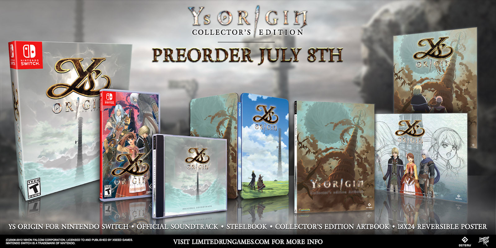 Ys Origin Collector's Edition