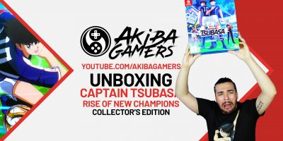 VIDEO – Captain Tsubasa: Rise of New Champions Collector's Edition UNBOXING