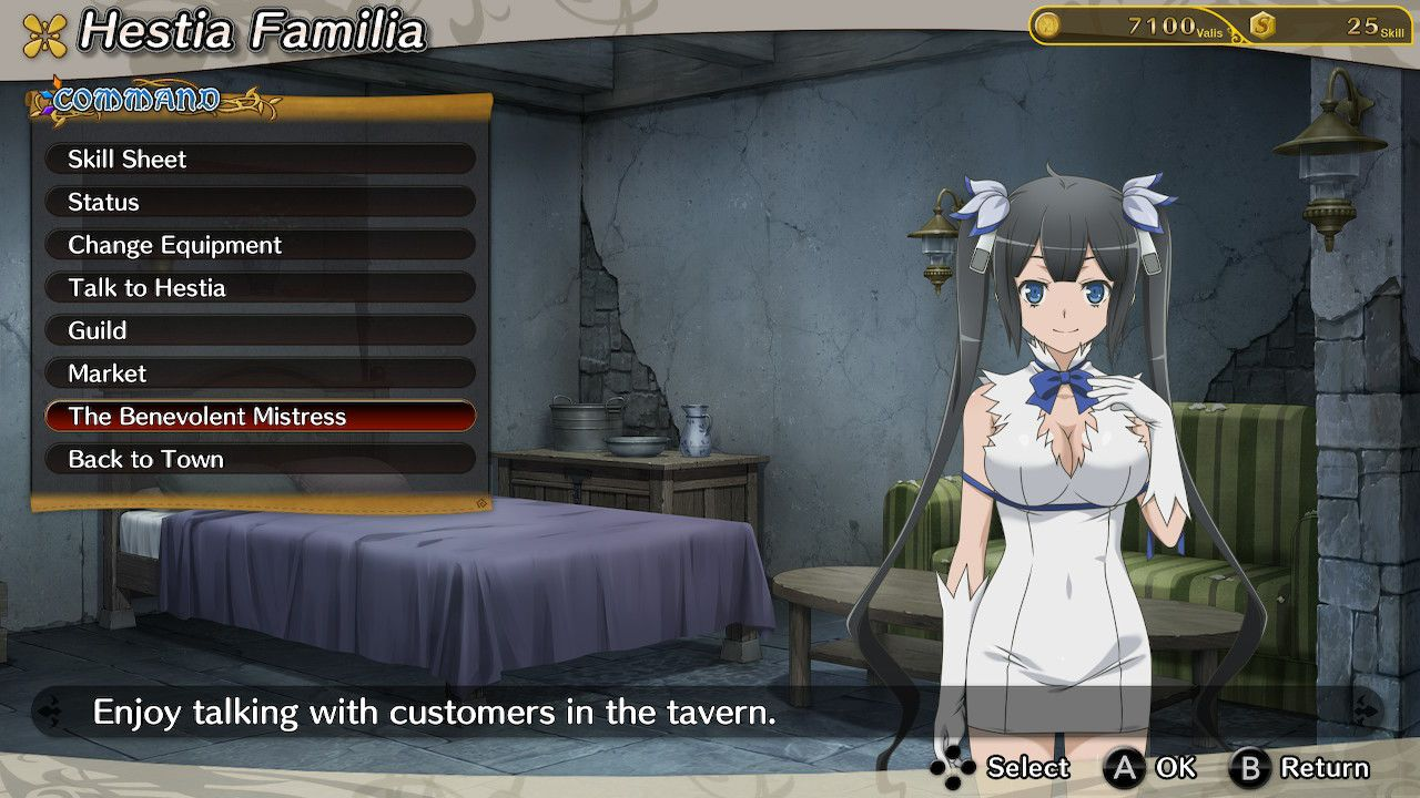 Is It Wrong to Try to Pick Up Girls in a Dungeon? Familia Myth Infinite Combate