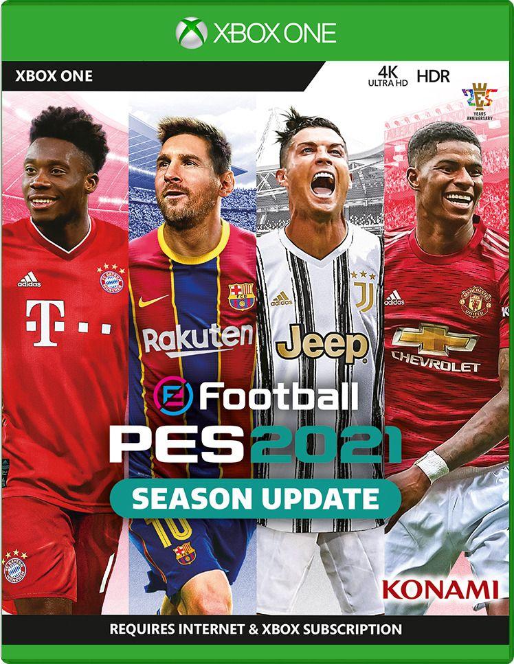 PES 2021 copertina xbox