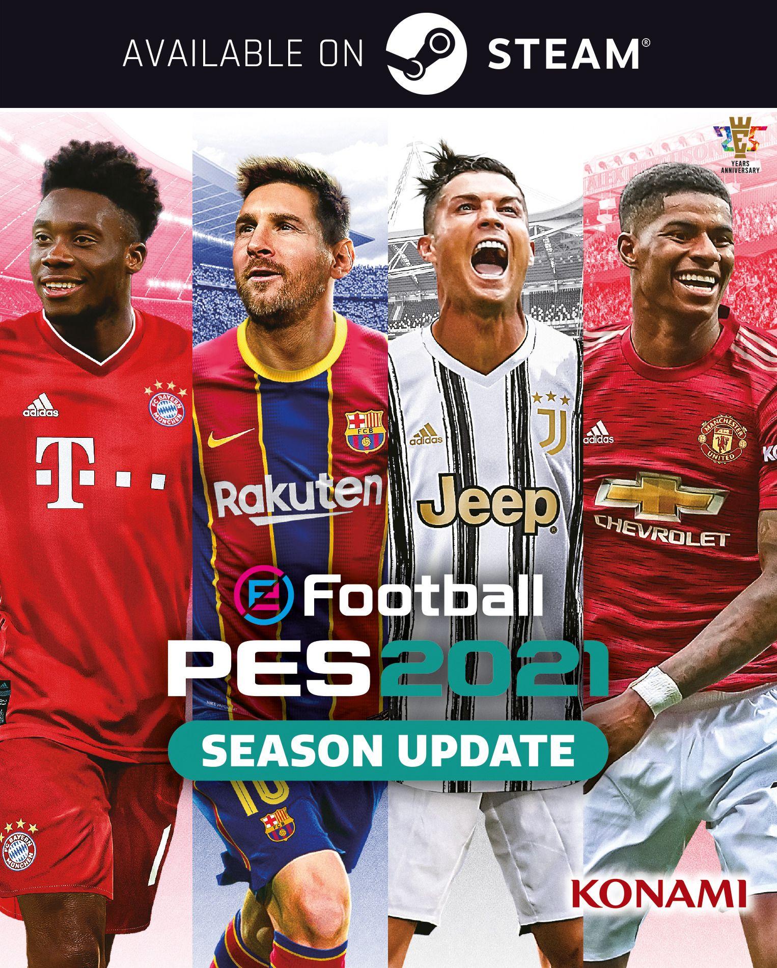 PES 2021 copertina steam