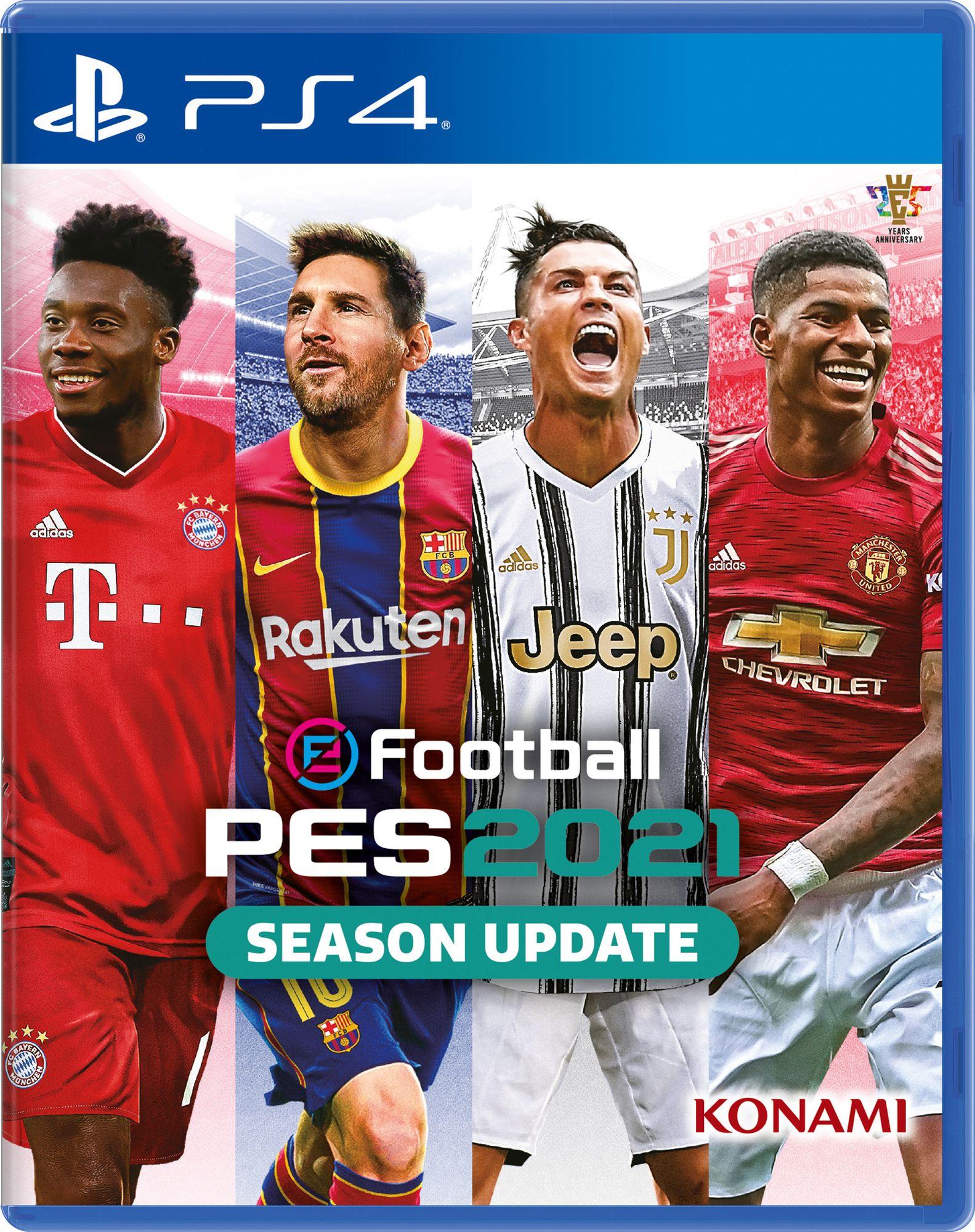 PES 2021 copertina ps4