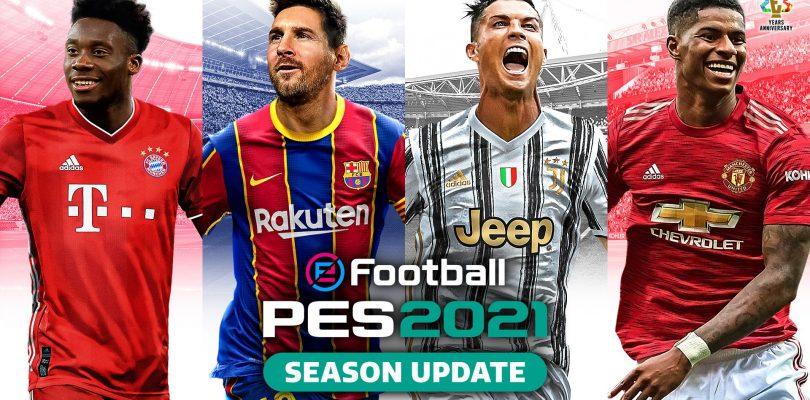 eFootball PES2021 Season Update – Mostrati i campioni della copertina