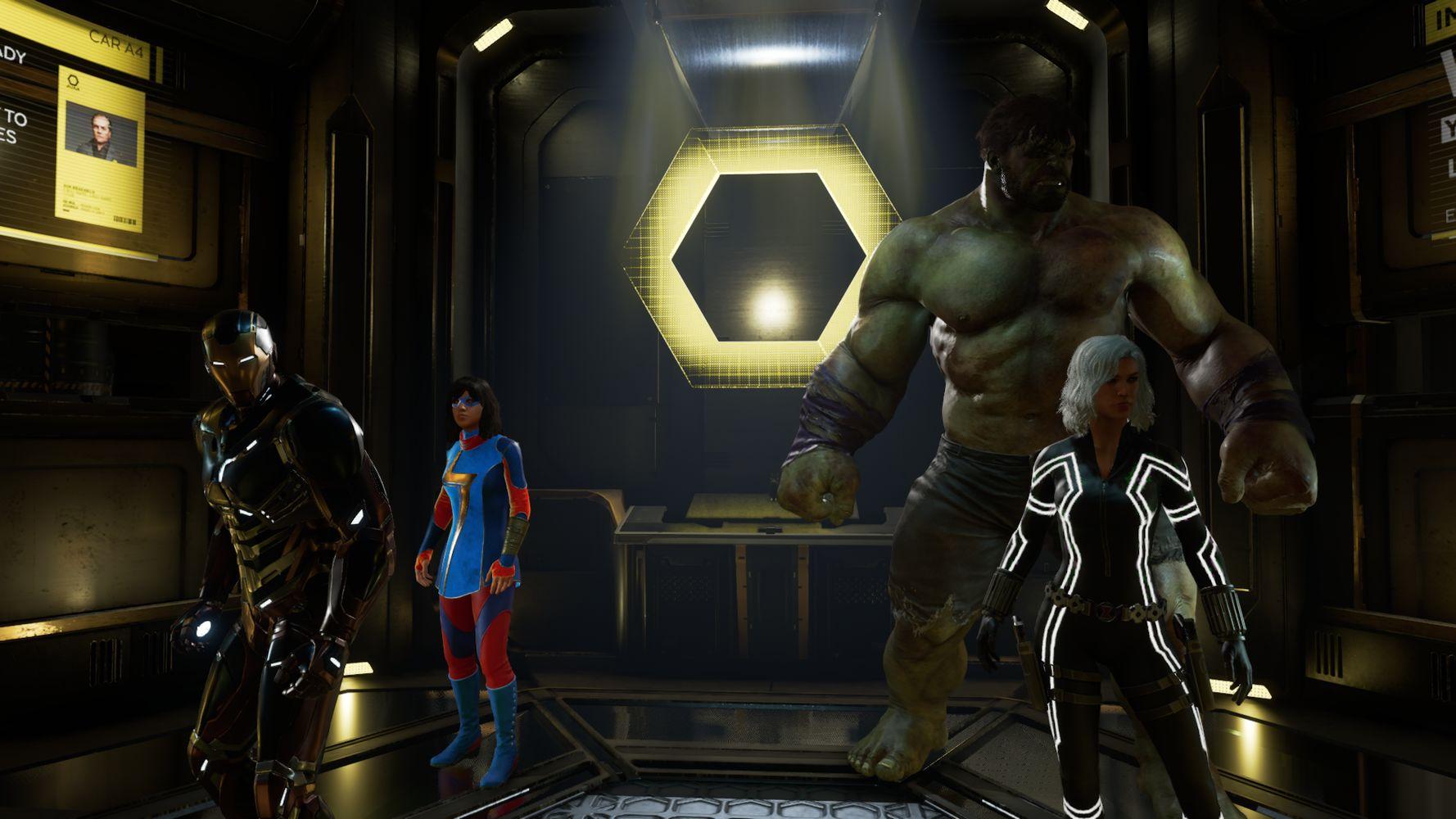 Hulk, Black Widow, Khamala Kan e Iron Man, tra i protagonisti di Marvel's Avengers