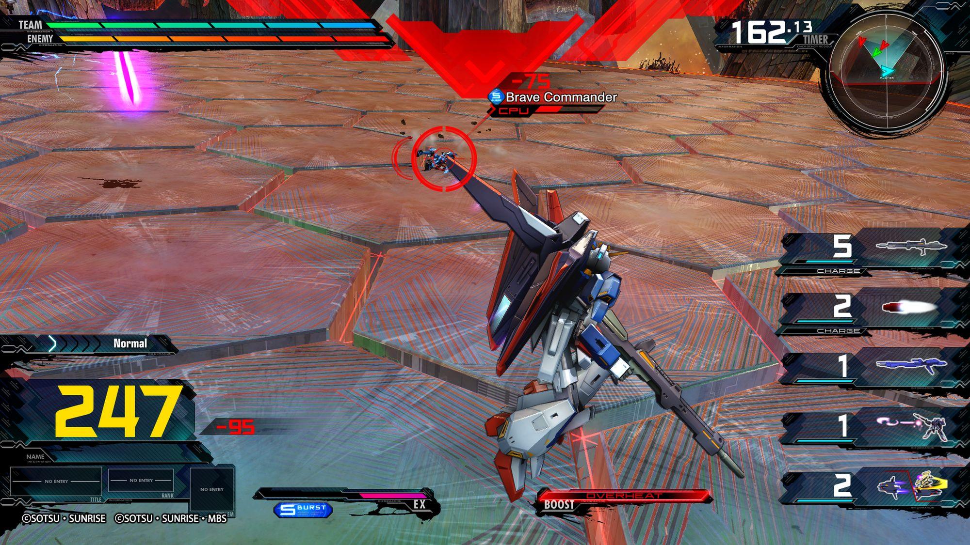 Z Gundam, MOBILE SUIT GUNDAM EXTREME VS. MAXIBOOST ON