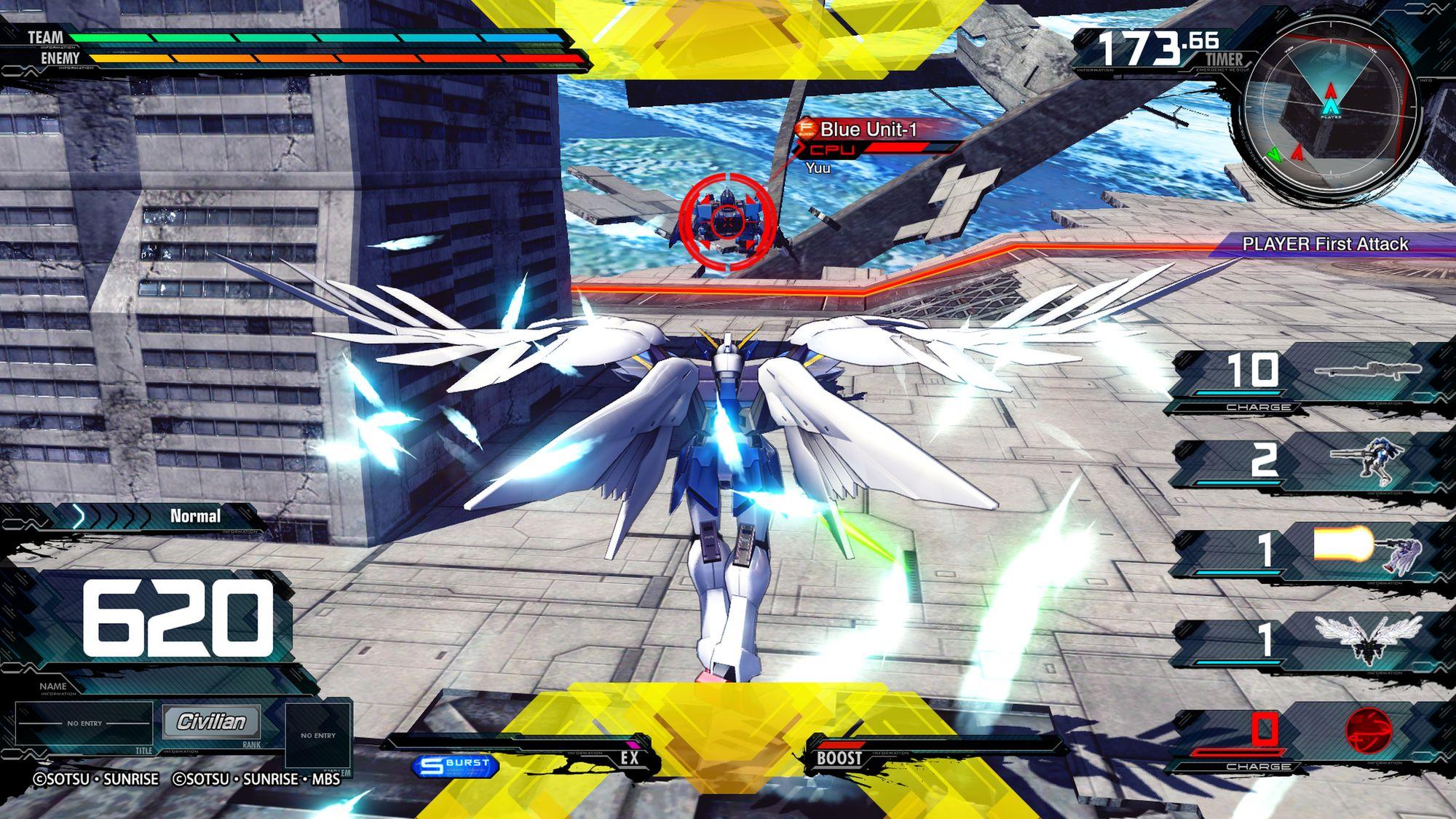 Wing Gundam Zero (EW) - MOBILE SUIT GUNDAM EXTREME VS. MAXIBOOST ON