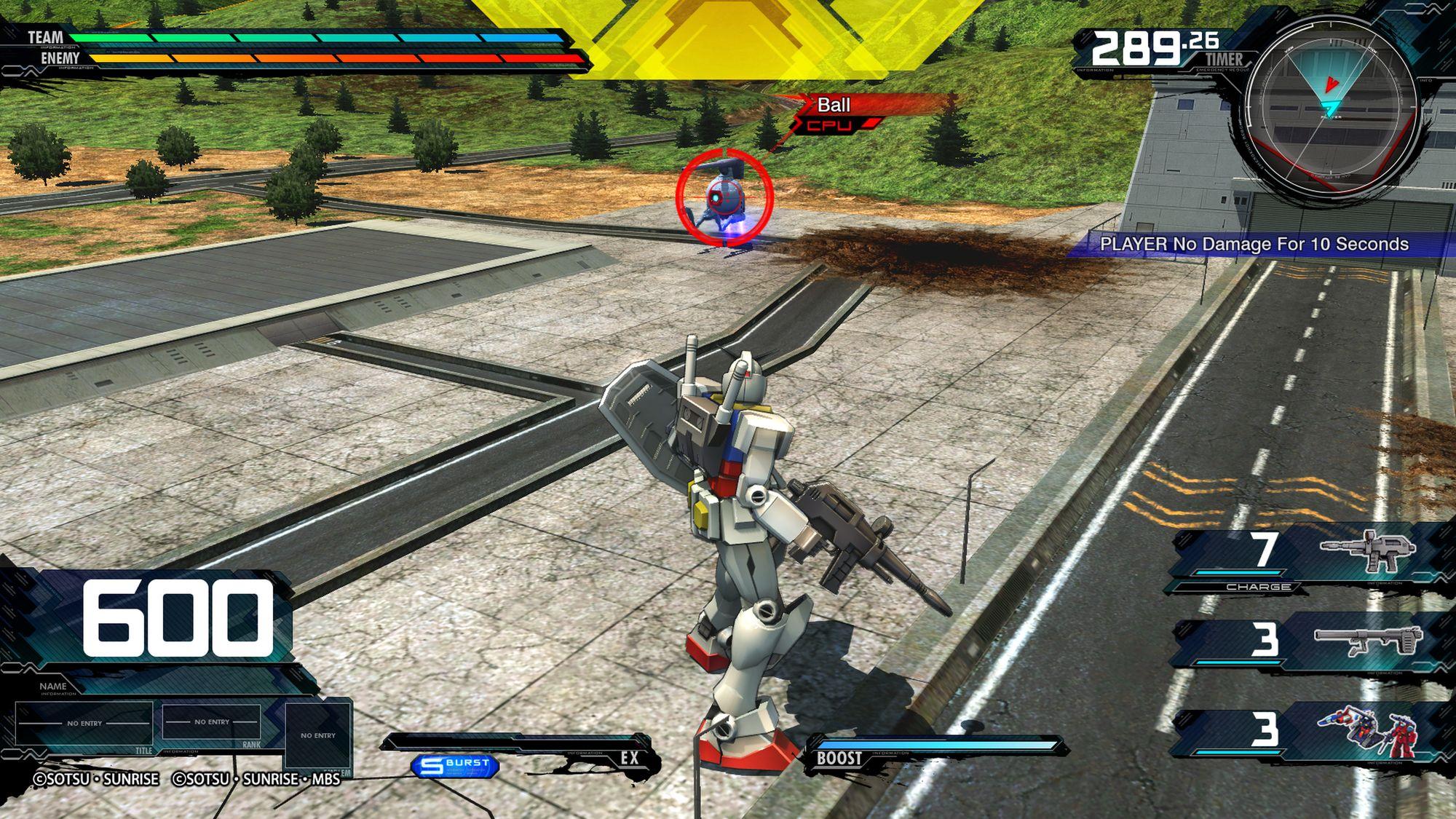 RX-78-2 Gundam, MOBILE SUIT GUNDAM EXTREME VS. MAXIBOOST ON
