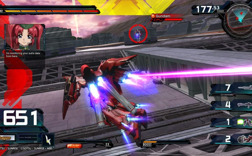 MOBILE SUIT GUNDAM EXTREME VS. MAXIBOOST ON – Disponibile l'update 1.05