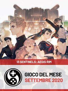 Gioco del mese di settembre 2020 - 13 Sentinels: Aegis Rim