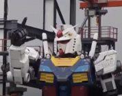 Gundam RX-78-2 Yokohama - i primi passi