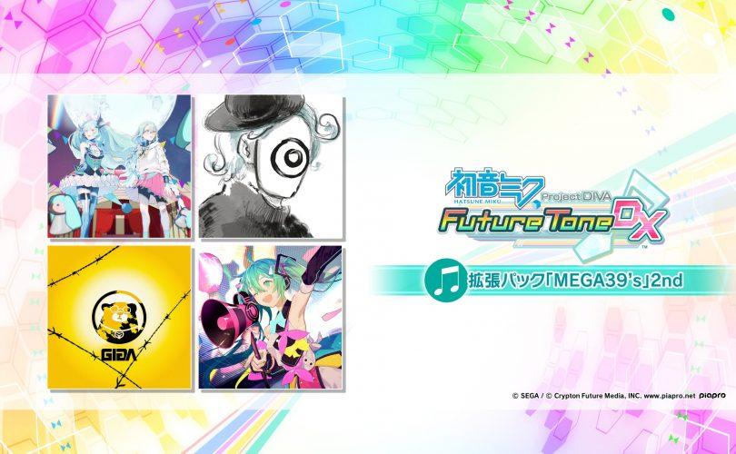 Hatsune Miku: Project DIVA Future Tone – Annunciato il DLC 'Mega Mix Encore Pack 2'