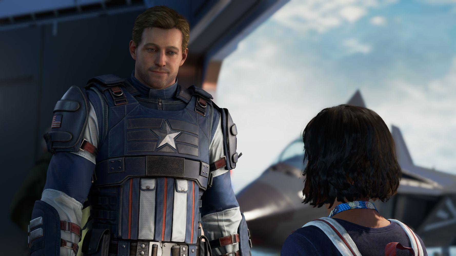 L'incontro tra Kamala e Captain America