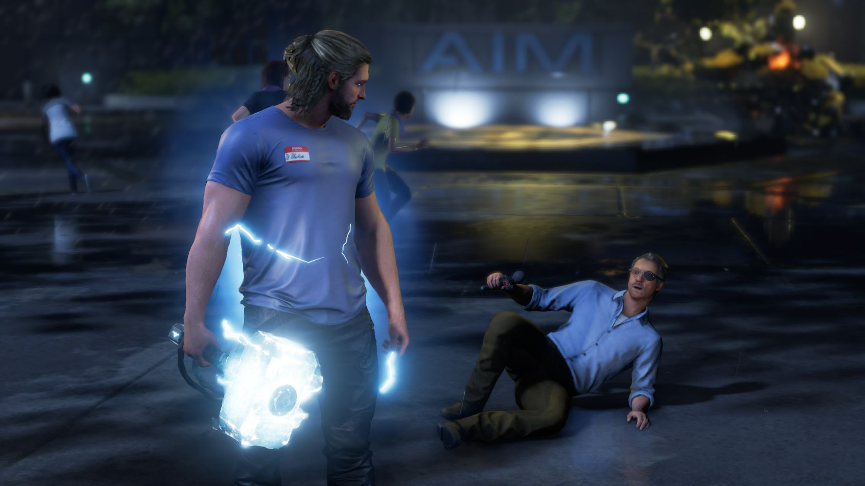 Thor arriva a salvare la situazione