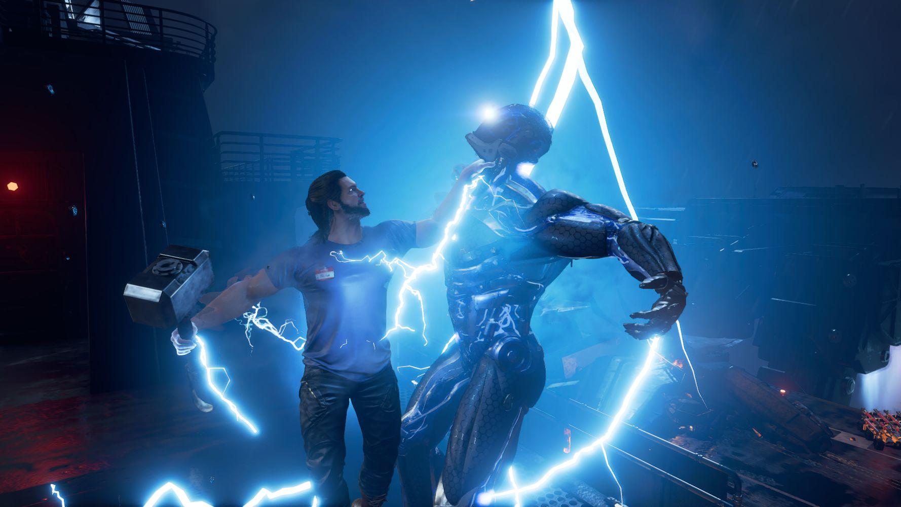 Thor scatena la sua potenza
