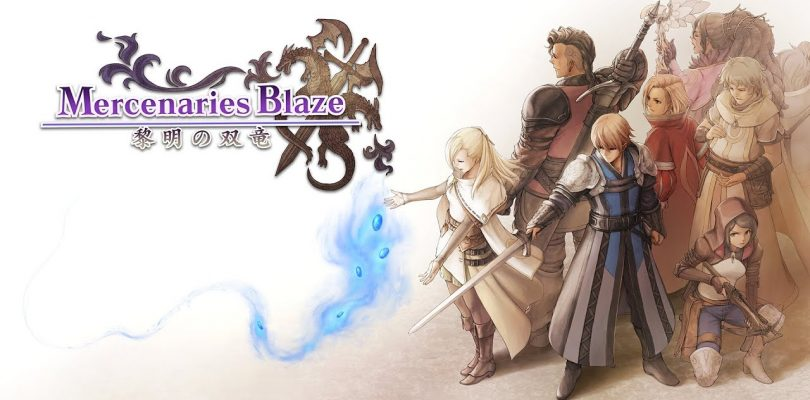 Mercenaries Blaze: Dawn of the Twin Dragons
