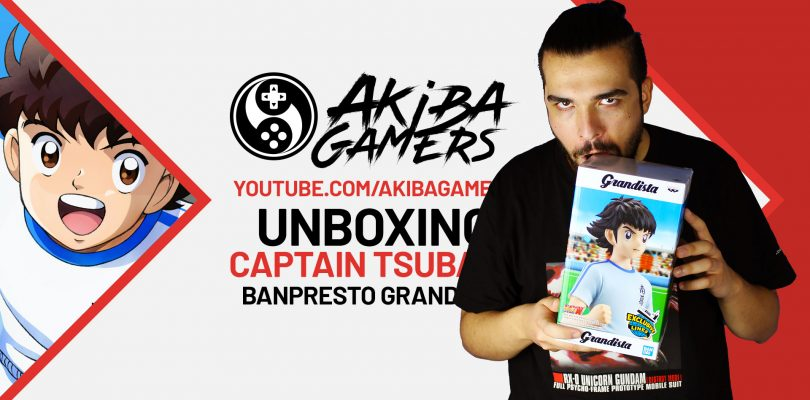 VIDEO – Captain Tsubasa: Unboxing della Grandista di Banpresto
