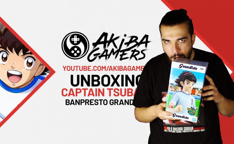 VIDEO – Captain Tsubasa: Unboxing della Grandista di Banpresto