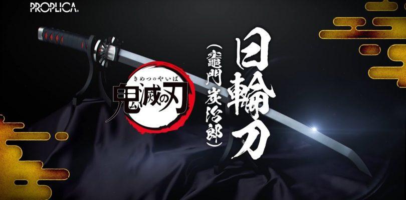 DEMON SLAYER: Kimetsu no Yaiba Nichirin-tou Proplica di Tamashii Nations
