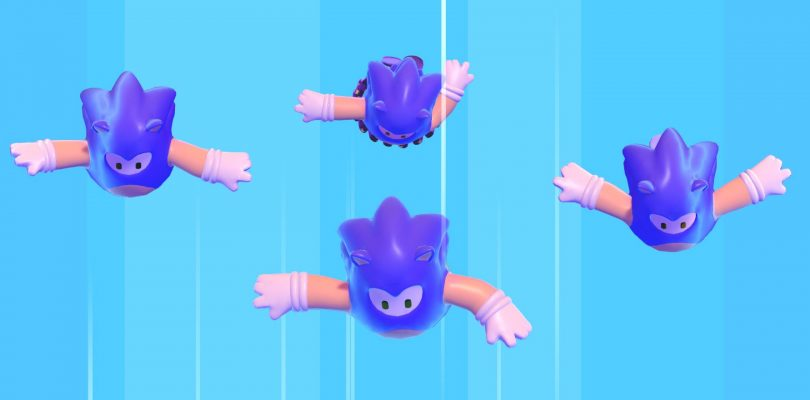Fall Guys: Ultimate Knockout costume Sonic