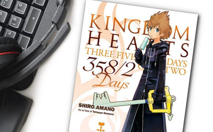 KINGDOM HEARTS 358/2 DAYS: disponibile oggi il primo volume del manga