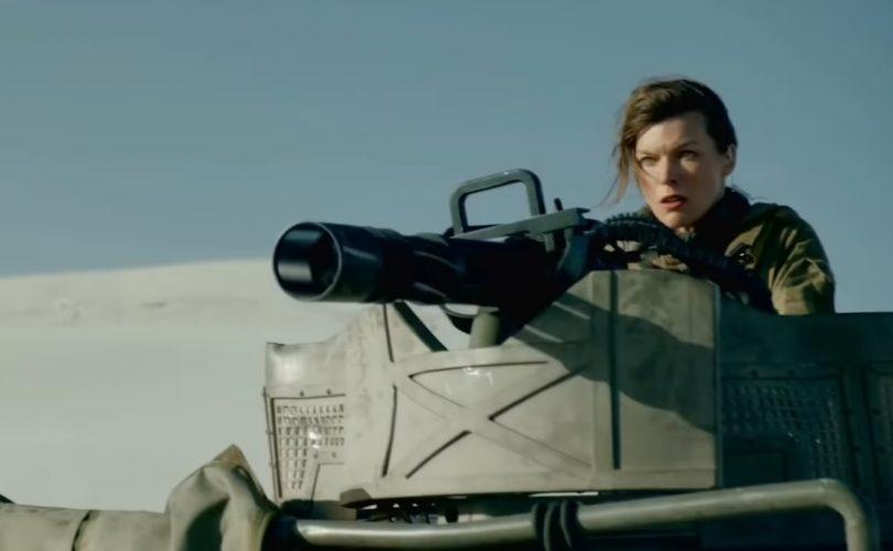 Milla Jovovich nel film live action di MONSTER HUNTER