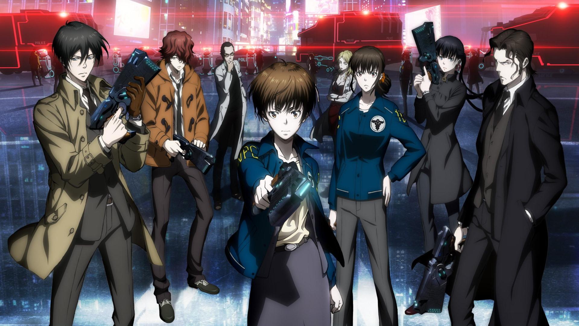 Psycho-Pass 2 anime