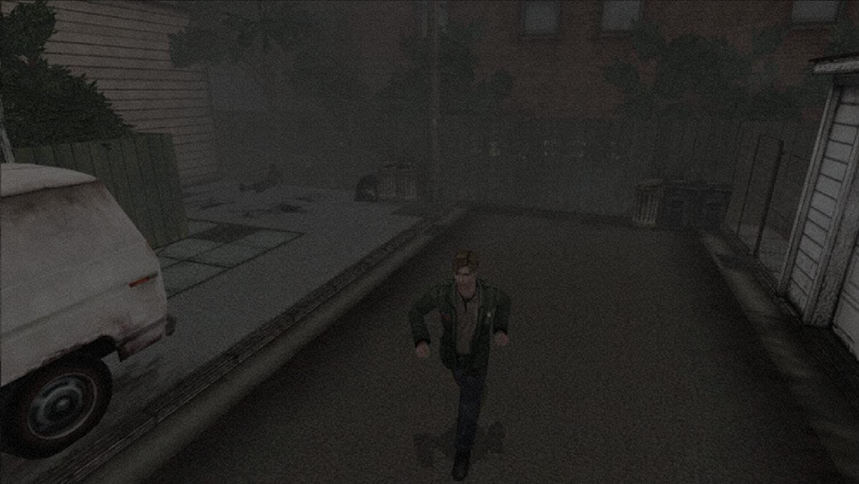 James cerca di scappare da ciò che si nasconde nella nebbia