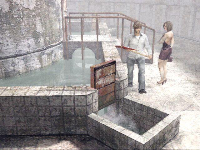 Henry ed Eileen in SILENT HILL 4