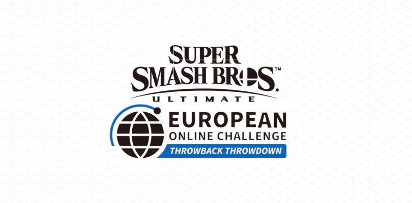 Super Smash Bros. Ultimate European Online Challenge – Throwback Throwdown