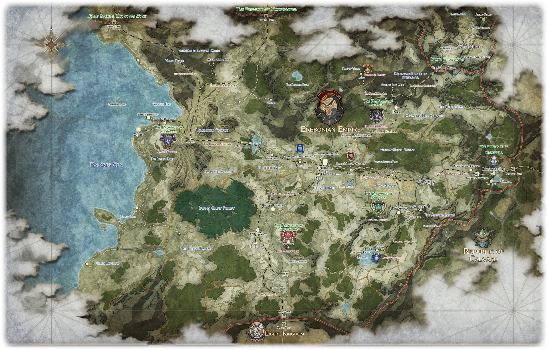 The Legend of Heroes - Un worldbuilding incredibile e ambizioso